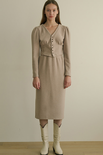 [2020 fw open sale]eill skirts beige
